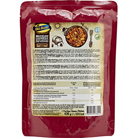 Bla Band Outdoor Meal 430g, Mexican Casserole with Lentils and Potatoes